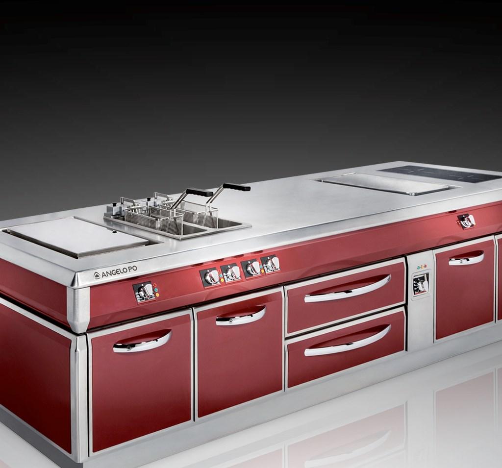 Cucine A Gas Professionali ~ Idee Creative e Innovative Sulla Casa ...
