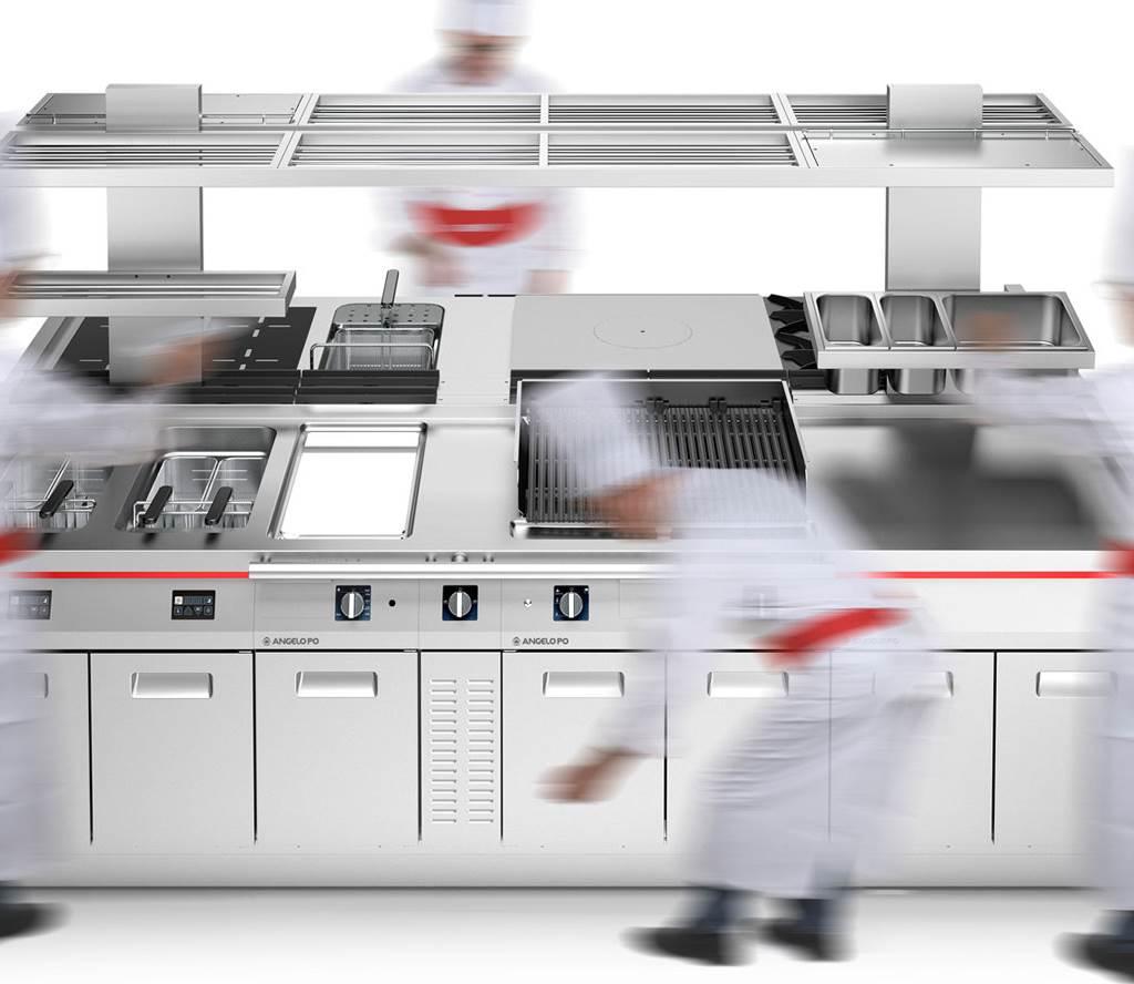 Professional Kitchen - Angelo Po