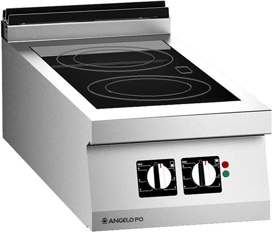 Cucina vetroceramica ad infrarosso 2 zone professionale - Cucina vetroceramica ...