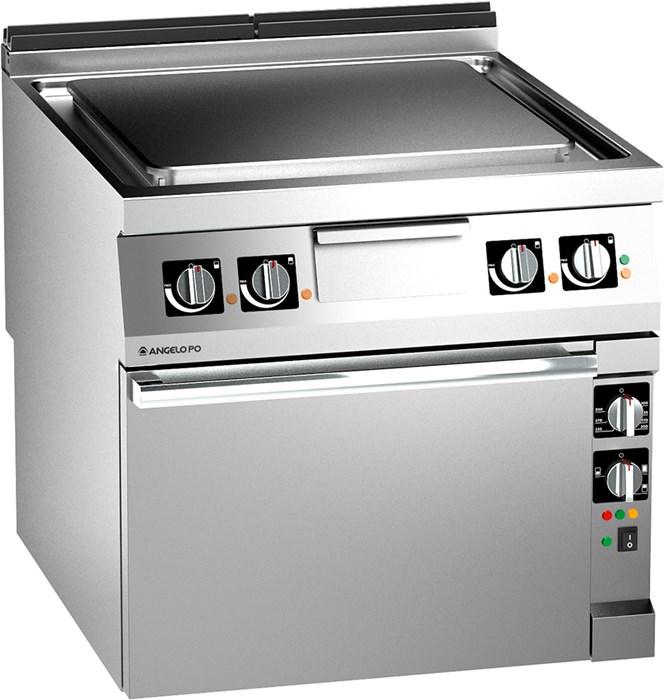 Cucina elettrica tuttapiastra con forno elettrico 1n1tpeev - Cucina con piastra elettrica ...