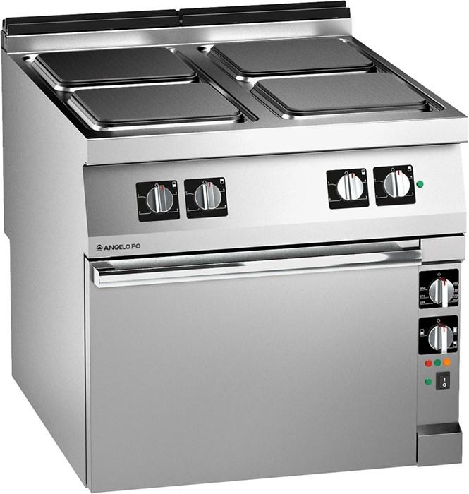 Cucina piastre elettriche forno elettrico pluri ventilato 1t1pe4ev - Piastre per cucinare elettriche ...