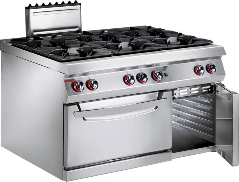 Cucine Con Forno A Gas: Grandi cucine gt serie cucina a gas con forno.