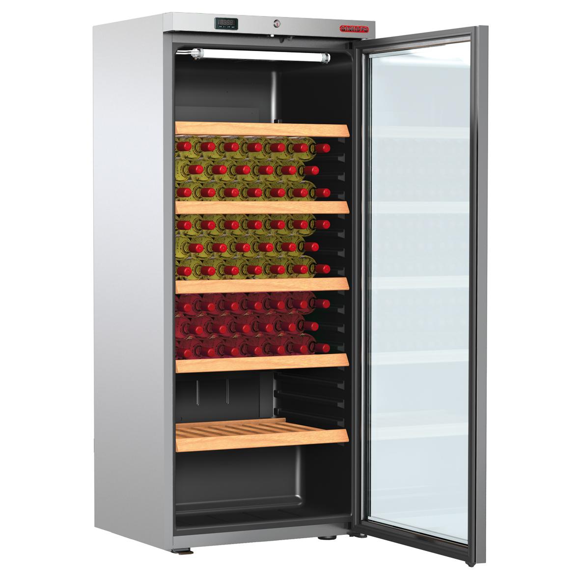 fr detail armoire positive cave a vin  lt porte vitr e ev
