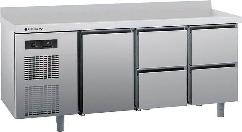 Mesa refrigerada 0 10 c profundidad 70 cm plano con for Sofa 70 cm profundidad