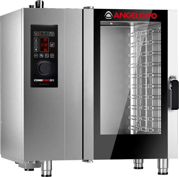 Forno combinato 10x1 1gn elettrico con apertura porta a - Forno elettrico e microonde combinato ...