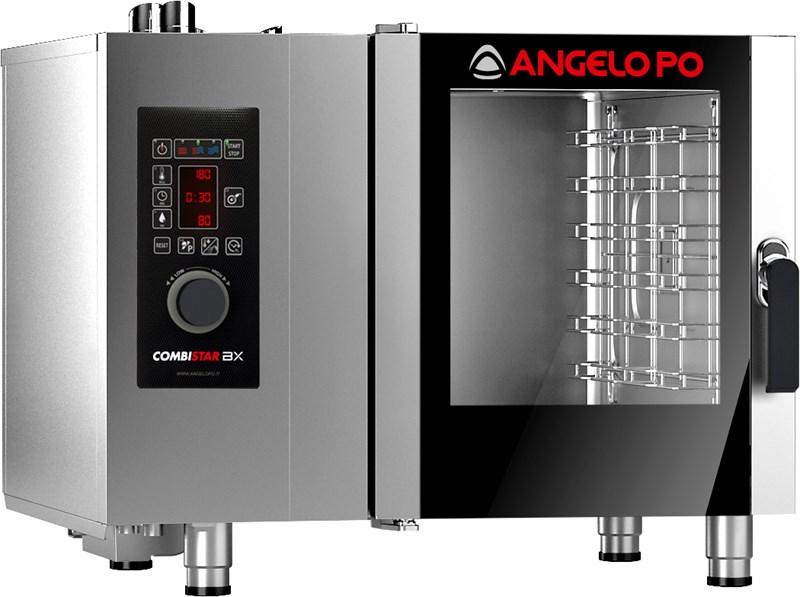 Forno combinato 6x1 1gn elettrico con apertura porta a - Forno elettrico microonde combinato ...