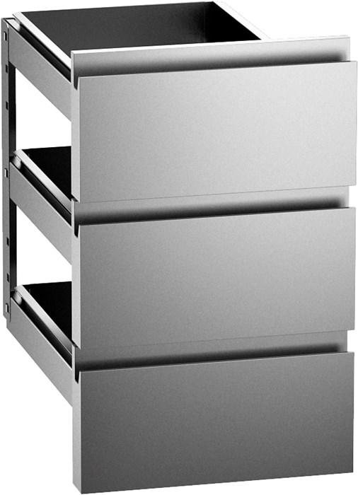 3 cassetti 1 3 in acciaio inox aisi 304 per basi cbr13f for Peso lamiera acciaio inox aisi 304