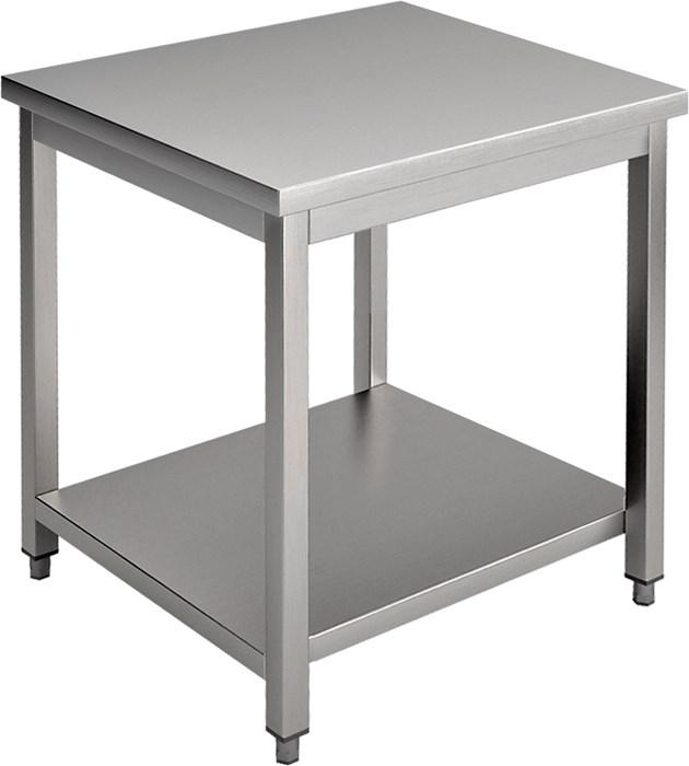 Tavolo con piano bifronte 70 cm professionale e07tb for Tavolo 40x40