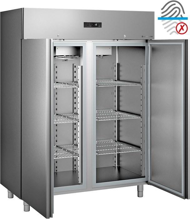 Armadio frigorifero -20°c ÷ -10°c gn 2-1 acciaio - ef150b