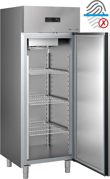 Armadio frigorifero 0°c ÷ +10°c gn 2-1 acciaio antimpronta - ef70t