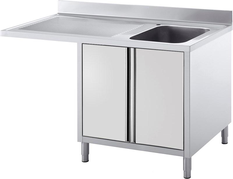lavello armadiato predisposto per lavastoviglie - ela141sl