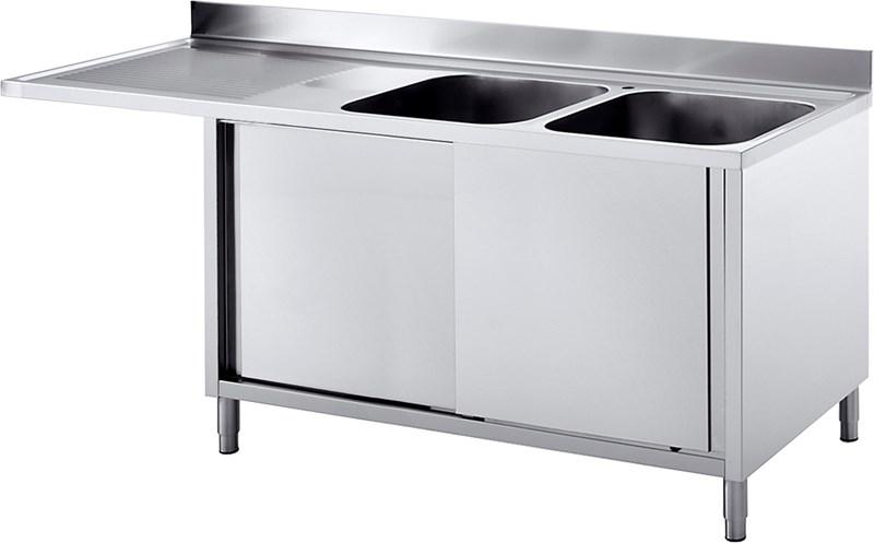 Plonge armoire pr equip pour lave vaisselles ela202sl - Lave vaisselle hauteur 80 cm maximum ...