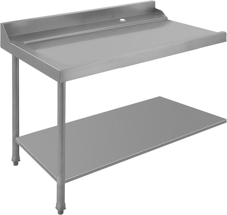 table d 39 entree sortie gauche avec dosseret professionnel ket12as. Black Bedroom Furniture Sets. Home Design Ideas
