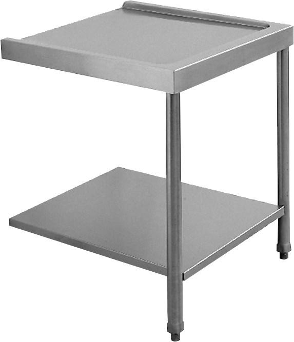 tavolo di uscita a 90 per cesto 50x60 cm professionale
