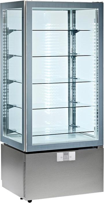 Vetrina verticale refrigerata 2 10 c professionale p8q for Vetrina in vetro