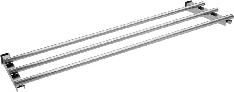Scorrivassoio in tubo inox 3 gn professionale svtlf3 for Plateau inox sur mesure