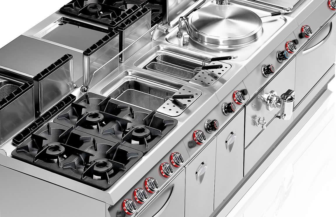 Cucine Professionali Realizzate Per La Cottura Modulare