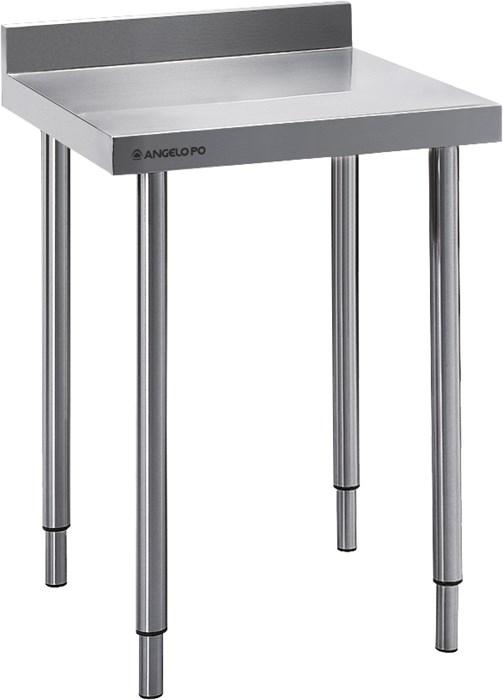 Tavolo con piano e alzatina 70 cm professionale - 07tja