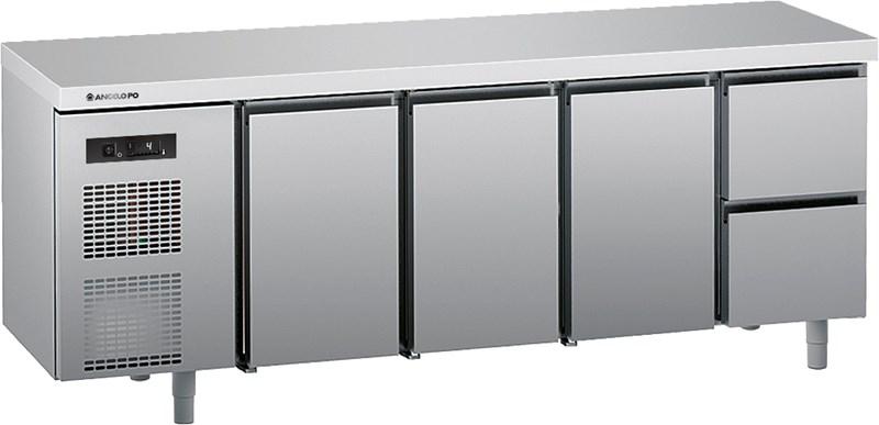Banque Refrigeree 0 10 C Profondeur 70 Cm Avec Plan De 5vc2m